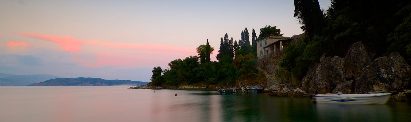 Agni Boats Rental Corfu | Calm Evening in Agni Bay, Corfu